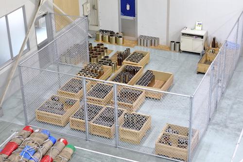 BUSHING材コンサイメント倉庫